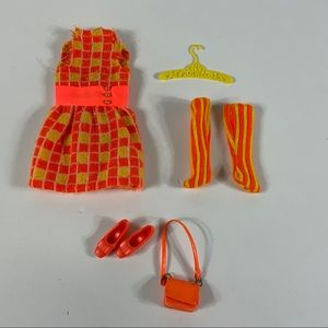 Francie #1209 mini chex outfit clothes for doll